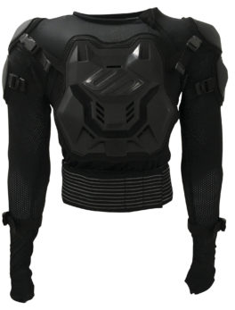 Shot Airlight Evo Kids CE Approved Motocross Body Armour Off Road Quad Dirtbike